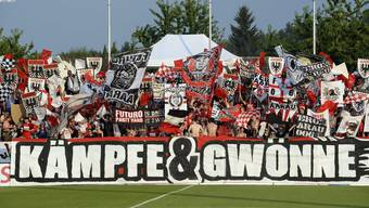So eng wie auf dem Bild wirds im Stadion nicht werden, aber vorerst rund 150 Zuschauer dürfte der FC Aarau in den verbleibenden sechs Heimspielen ins Brügglifeld lassen.