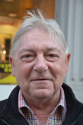 Rolf Baumann, 63, Mülligen «Die Aktion in der Stadt Brugg habe ich nur am Rande mitbekommen. Bis jetzt bin ich noch nicht wirklich auf die Spiele aufmerksam geworden. Es ist eine gute Idee und ich denke, dass es auch die Kinder freut.»