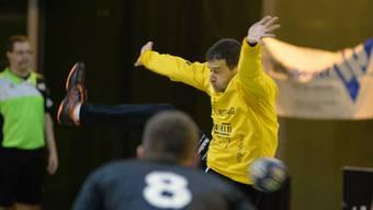 Rados Dukanovic und der TV Solothurn müssen zum fünften Mal in Folge ohne Punkte das Feld verlassen.