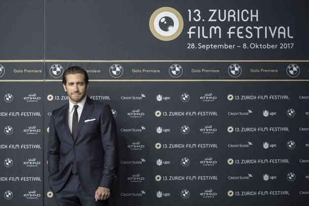 Jake Gyllenhaal auf dem Green Carpet vom ZFF