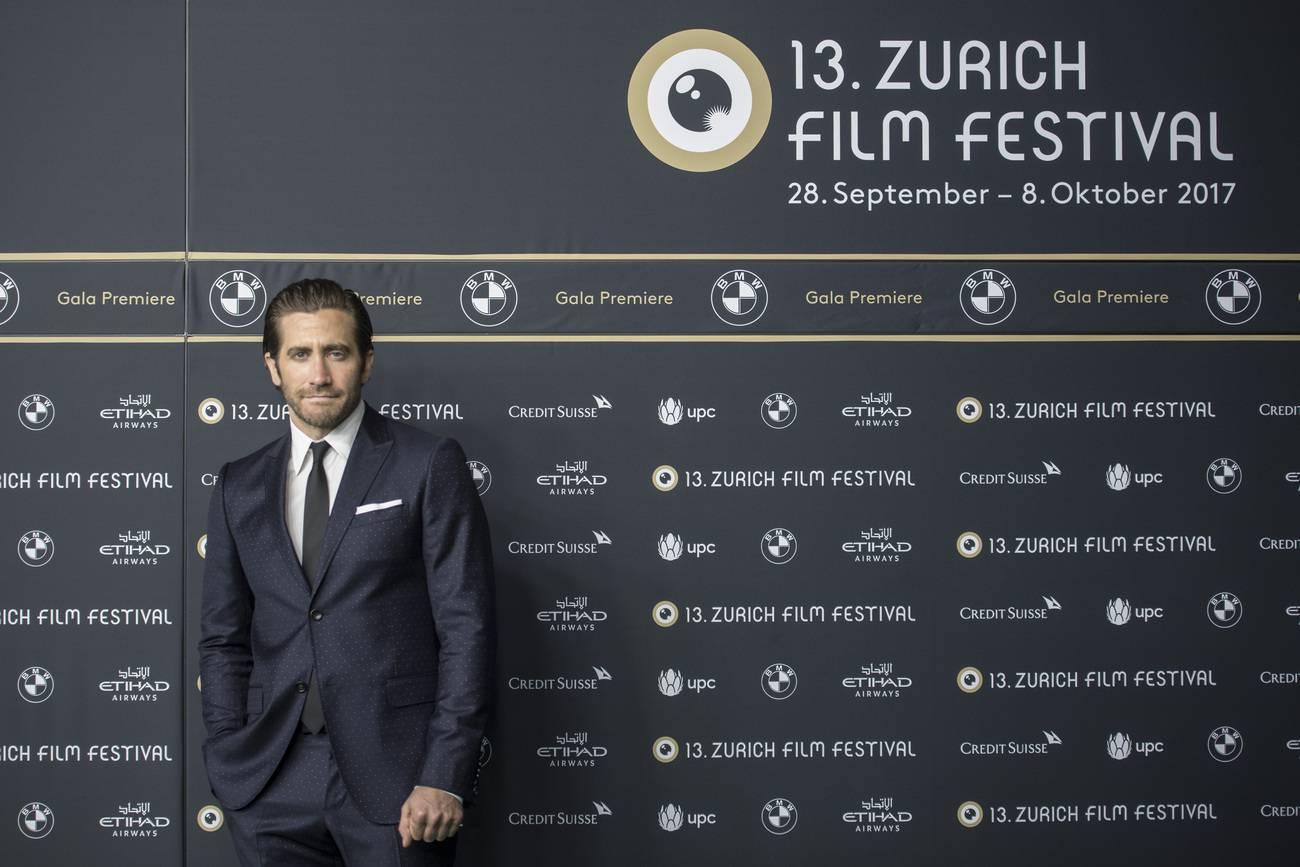 Jake Gyllenhaal auf dem Green Carpet vom ZFF (© Keystone)