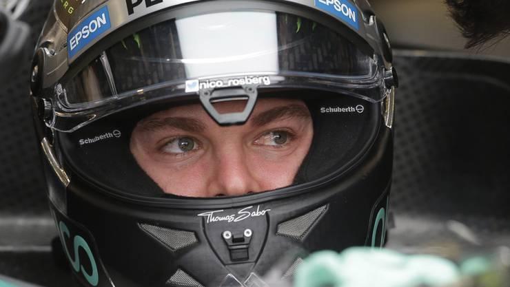 Nico Rosberg nimmt den GP der USA vom besten Startplatz aus in Angriff