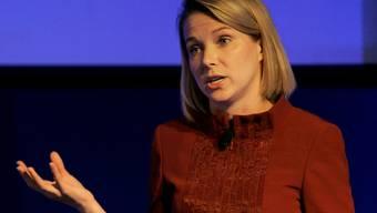 Konnte den hohen Erwartungen noch nicht gerecht werden: Die Yahoo-Chefin Marissa Mayer (Archiv)