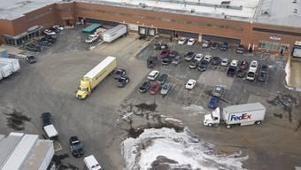 Die Schiesserei ereignete sich auf einem Industrieareal in Aurora im US-Bundesstaat Illinois.