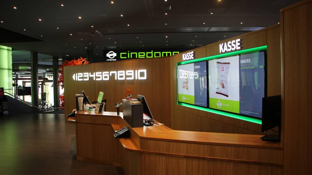 Das neue 4DX-Kino im Cinedome
