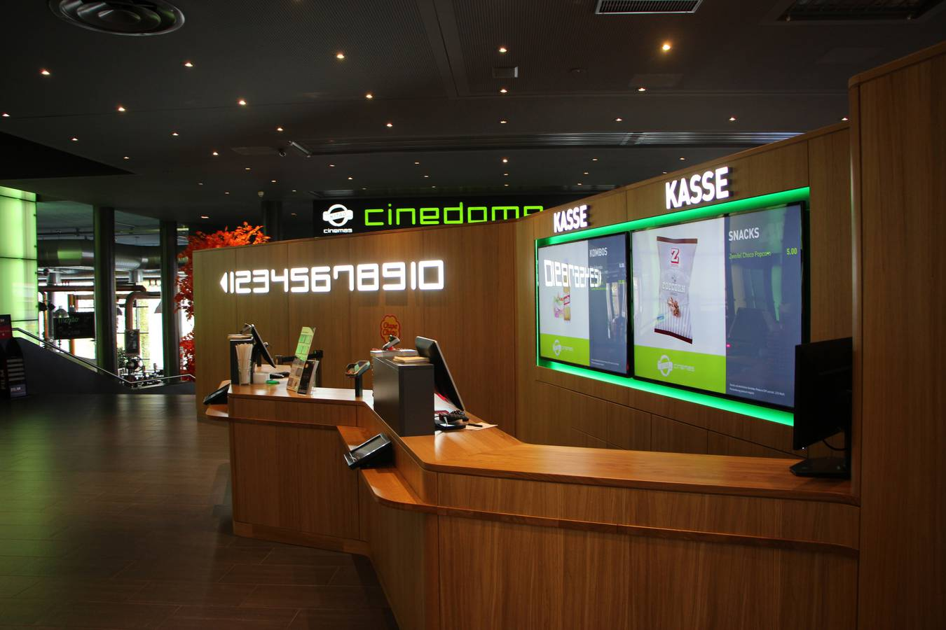 In Abtwil hat am Donnerstag das Cinedome neu eröffnet. (© FM1Today)