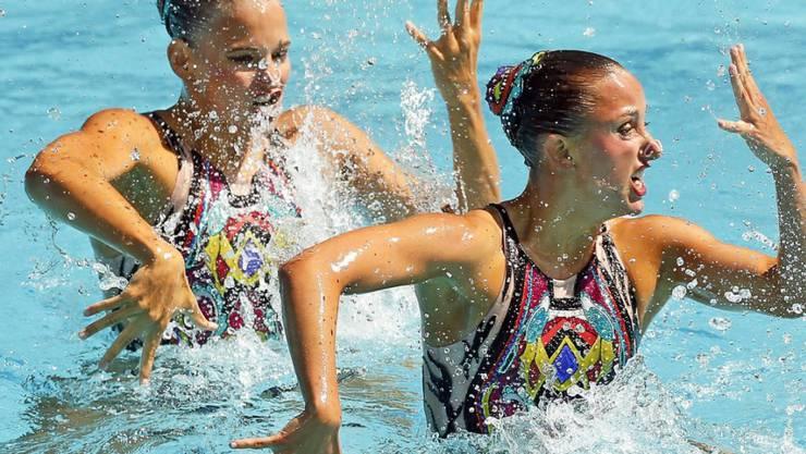 Die Zürcher Synchronschwimmerinnen Sascia Kraus und Sophie Giger verpassen in Rio de Janeiro den olympischen Final der besten 12