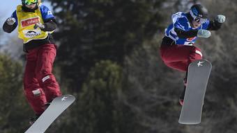 Simona Meiler (rechts) nimmt ihre dritten Winterspiele in Angriff