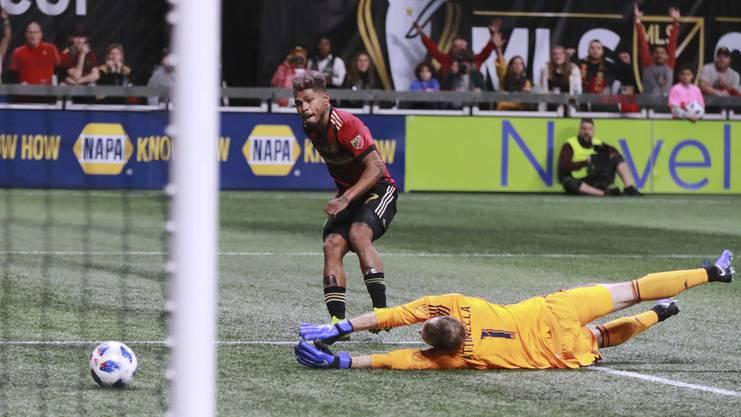 Josef Martinez bringt Atlanta United mit seinem 35. Saisontreffer in Führung.