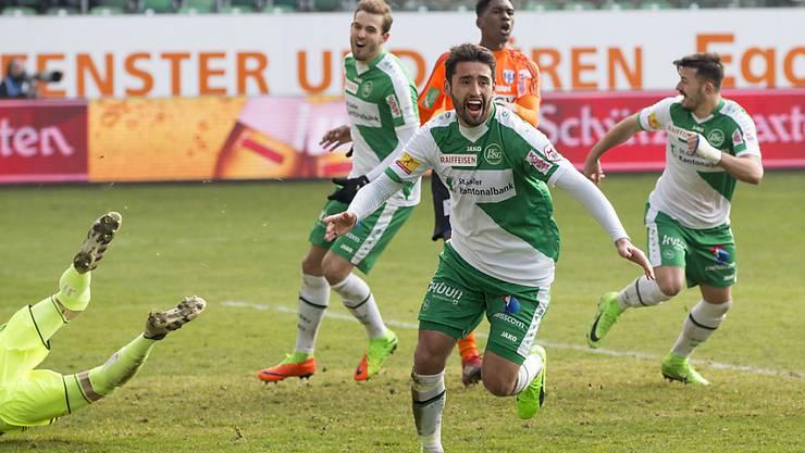 Karim Haggui erzielte den Führungstreffer für St. Gallen gegen Lausanne-Sport