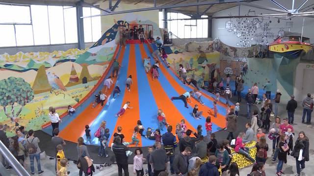 Neuer Indoor-Spielplatz in Bern