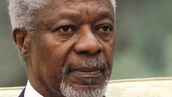 Eine Beobachermission soll die Umsetzung seines Friedensplanes überprüfen: Der UNO-Sondergesandte Kofi Annan (Archiv)