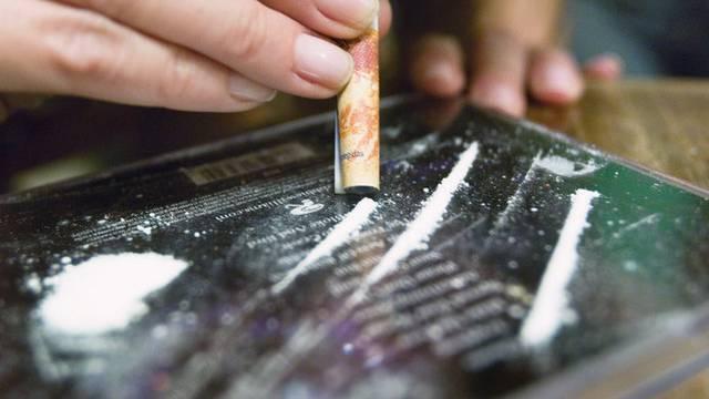Afrikanische Dealer verkauften das Kokain den Äbhängigen (Symbolbild)