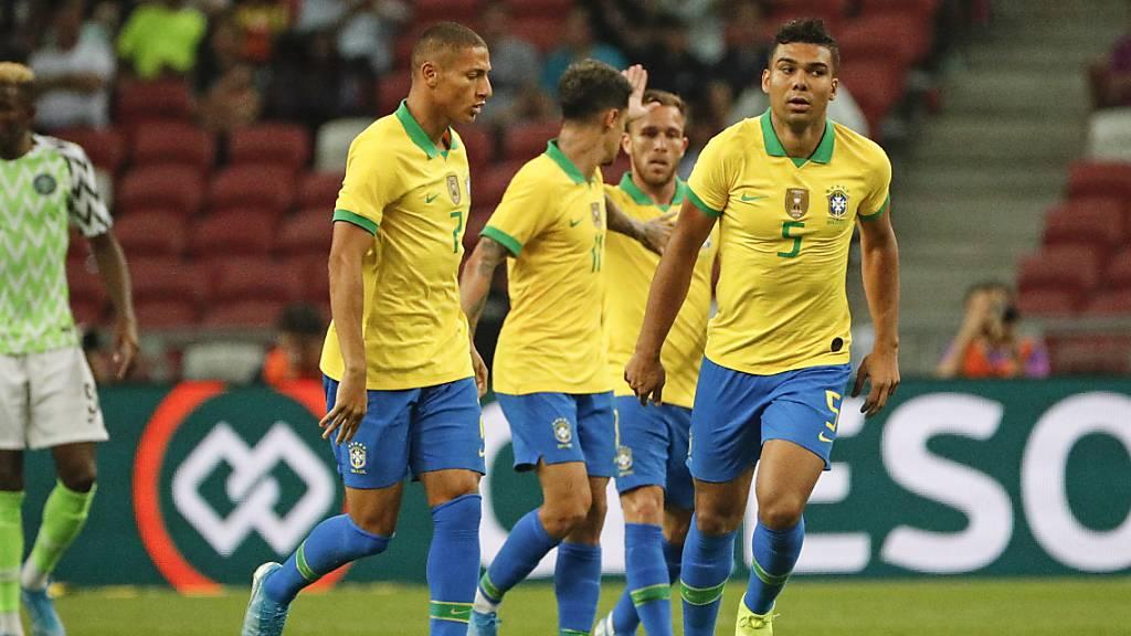 Brasilien zum vierten Mal in Folge sieglos - Neymar verletzt