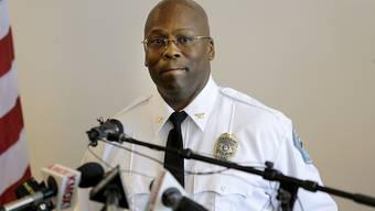 Der neue Polizeichef von Ferguson: Andre Anderson.