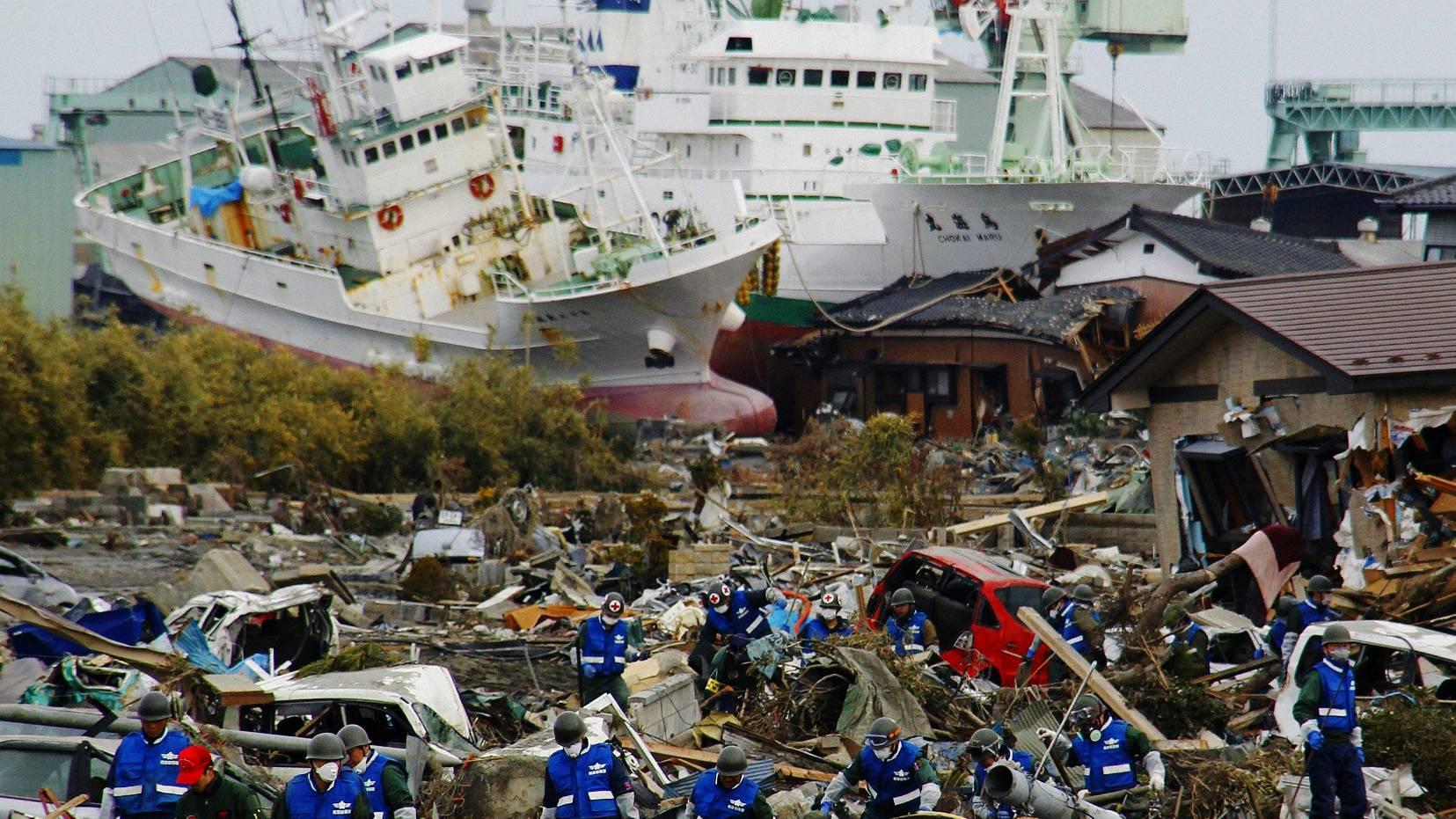 Arbeiten Fukushima
