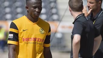 Sékou Sanogo bleibt wohl auch in der Rückrunde bei den Young Boys