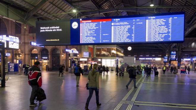 Für bestimmte Verbindungen herrscht Nulltoleranz: Verspätete Züge. Foto: Keystone