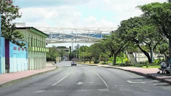 «Keine schlechten Zeiten, künstlerisch gesehen»: Auch in Managua, wo unser Autor festsitzt, hat es weniger Verkehr.