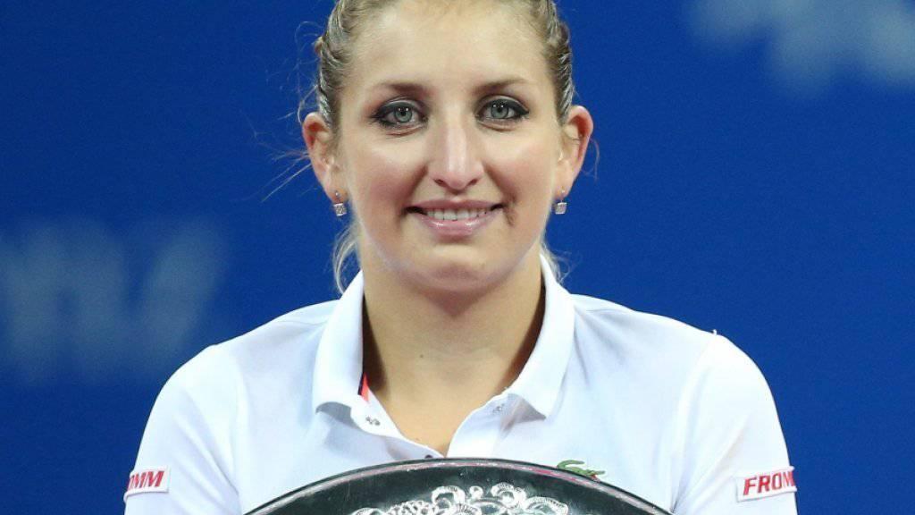 Timea Bacsinszky erhielt eine prestigeträchtige Auszeichnung der WTA