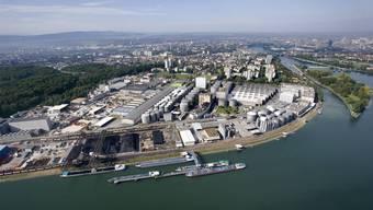 Im Vergleich zum Vorjahr wurden am Birsfelder Hafen im Juli sieben Prozent weniger Güter umgeschlagen.