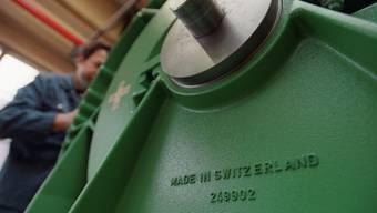 Der Industriekonzern Rieter baut 180 Stellen ab, davon voraussichltihc 87 in Winterthur. (Archivbild)
