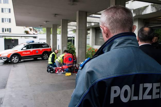 Die First Responder werden in Zukunft eng mit der Polizei zusammenarbeiten.