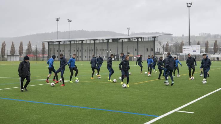 Gross Vorfreude beim FC Wohlen: Endlich darf wieder trainiert werden.