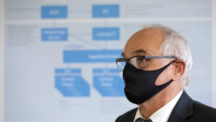 Der Berner Gesundheitsdirektor Pierre-Alain Schnegg.