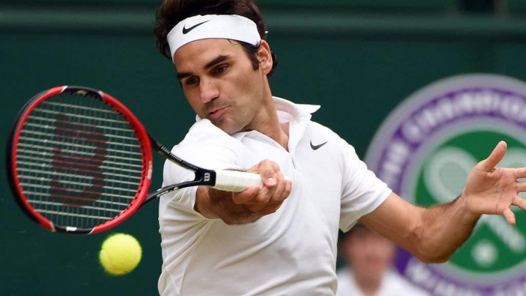 Tennis hat Roger Federer zu einem reichen Mann gemacht - genauer gesagt, zum 16. reichsten Promi der Welt. (Archivbild)