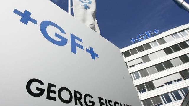 Der Georg-Fischer-Hauptsitz in Schaffhausen (Archiv)