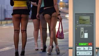Lukratier Strassenstreich:Billettautomaten für Prostituierte füllen die Stadtkasse in Zürich.