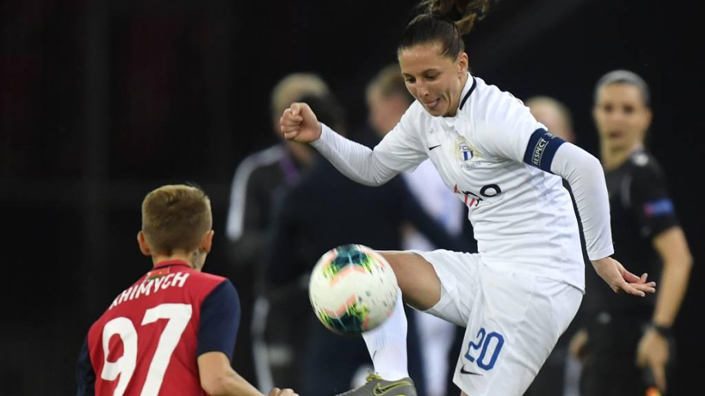 FCZ-Frauen in der Champions League ausgeschieden