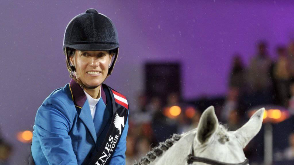 Luciana Diniz darf sich über den Gesamtsieg an der Global Champions Tour freuen