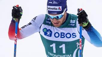 Nicht richtig vom Fleck gekommen: Dario Cologna lief in Lahti nur auf den 28. Platz