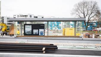 Die zweite Etappe der Limmattalbahn führt von der Station Geissweid in Schlieren zum Bahnhof Killwangen-Spreitenbach sowie vom Bahnhof Zürich Altstetten zur Station Farbhof.