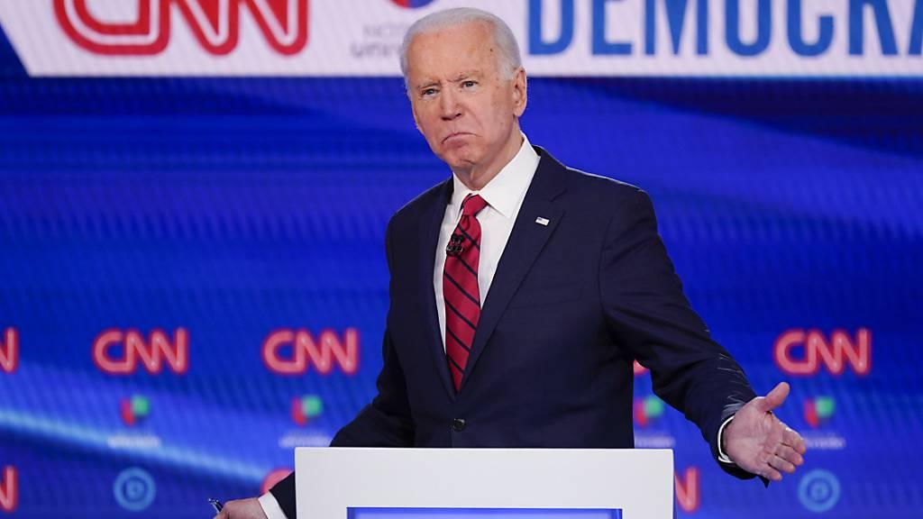 Prognosen: Biden gewinnt weitere wichtige Vorwahlen
