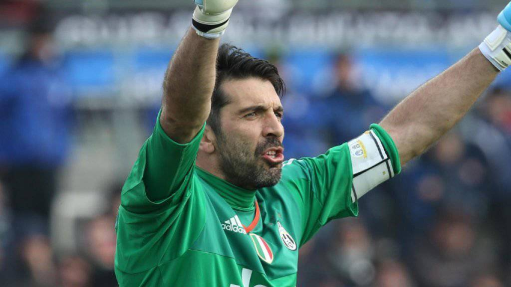Buffon sorgte für den Klubrekord in Sachen Ungeschlagenheit