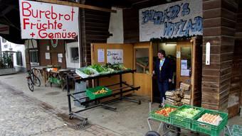 Der Hofladen der Familie Zihlmann in Biel-Benken BL verkauft auch fremde Produkte, ohne das zu deklarieren.