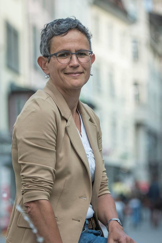 Susan Boos, Redaktorin bei der WOZ, von 2005 bis 2017 Redaktionsleiterin.