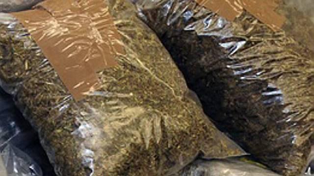 Abgepacktes Cannabis (Archiv)