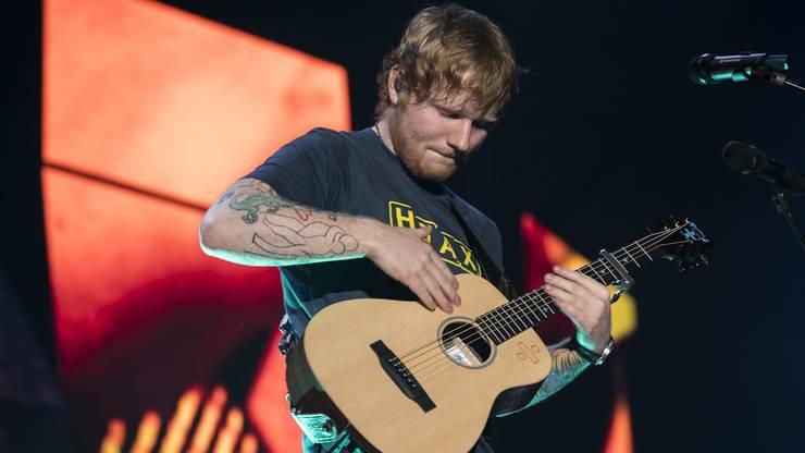Das Konzert von Ed Sheeran im Letzigrund war in 6 Minuten ausverkauft