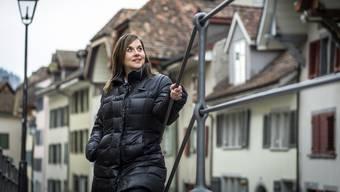 Aus betriebswirtschaftlicher Sicht mache es für Aargau Tourismus Sinn, die Büros in Aarau zu verlassen, meint die Direktorin Andrea Portmann (Bild). (Archivbild)