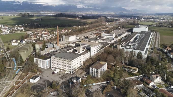 Das Papieri-Areal in Biberist gehört der Hiag AG.