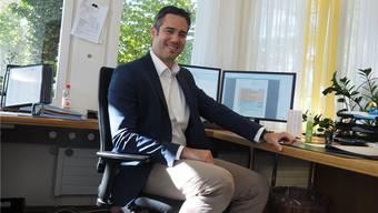«Die To-dos müssen konsequent gesetzt werden»: Marius Fricker, Gemeindeschreiber von Möhlin.
