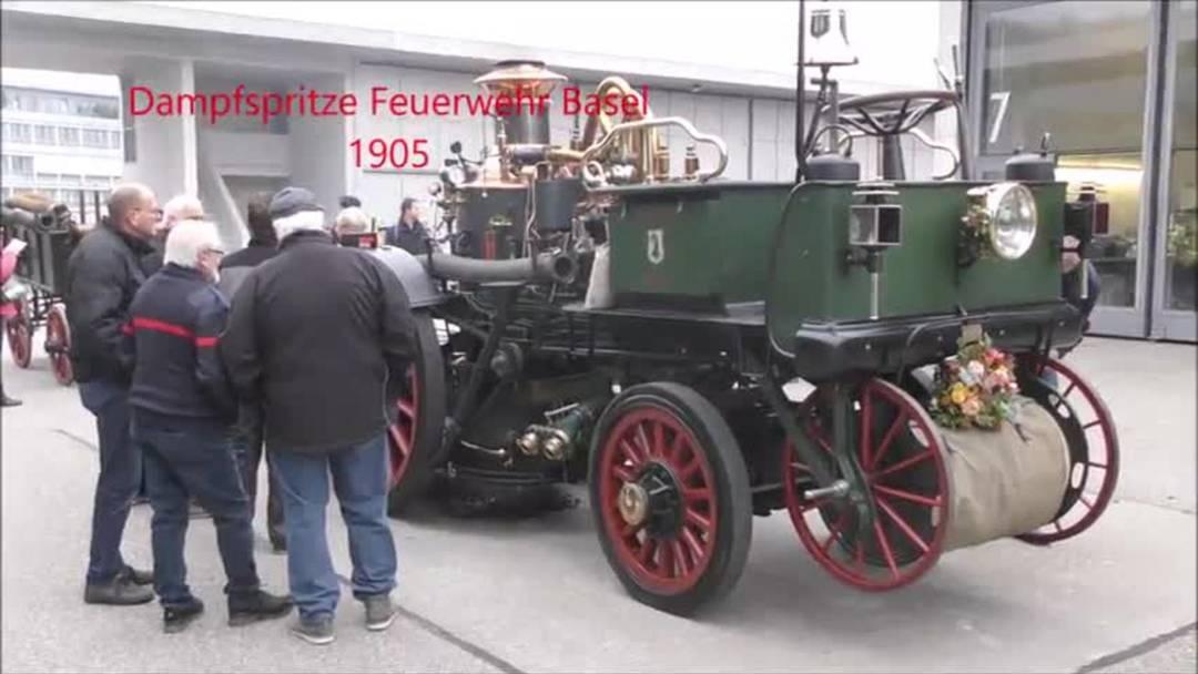Dampfspritze Feuerwehr Basel 1905