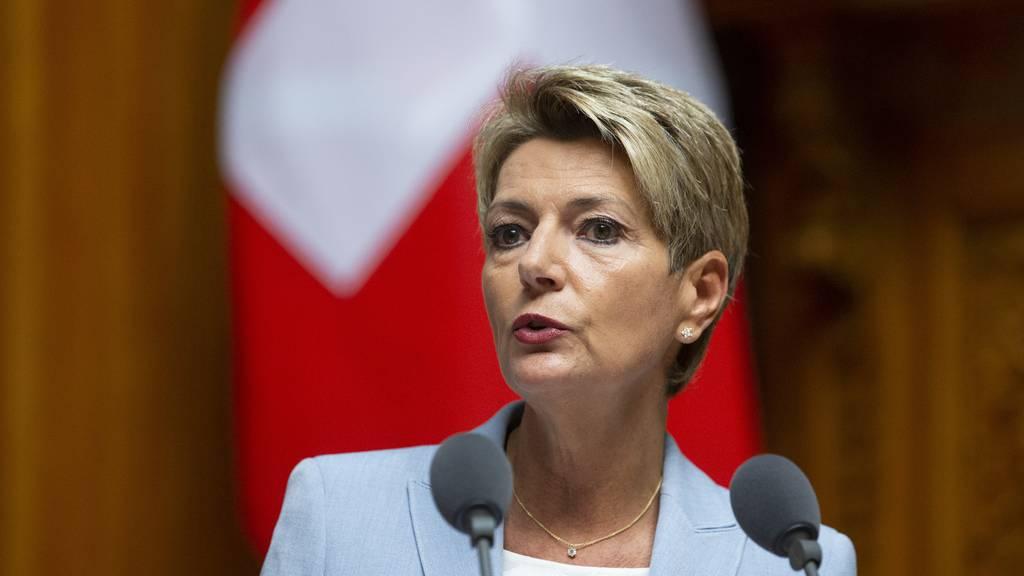 Bundesrätin Karin Keller-Sutter will nach Wien reisen