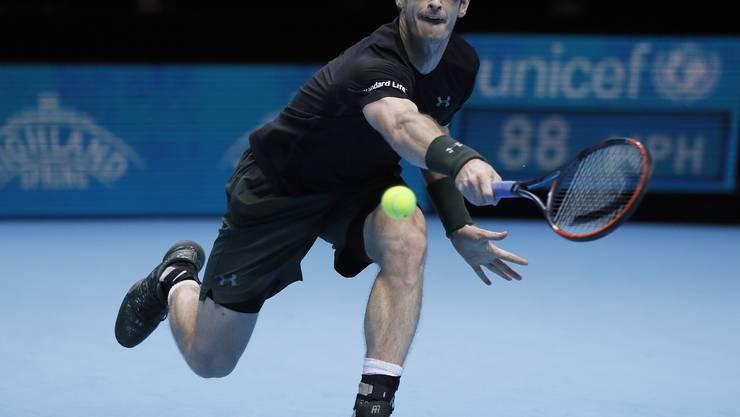 Andy Murray gewinnt in London zum ersten Mal in seiner Karriere das Masters.