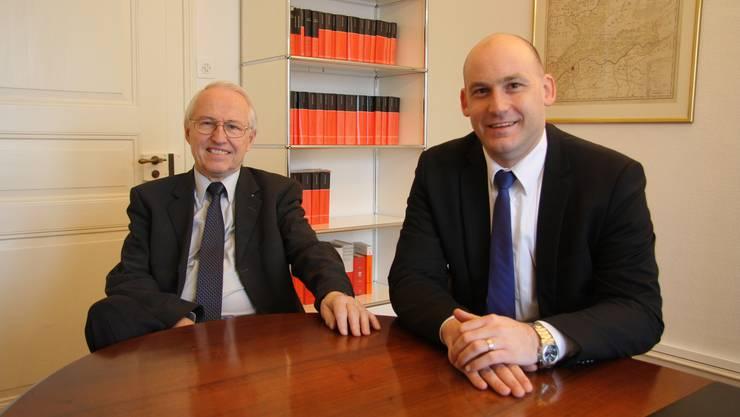 Max Flückiger und Yves Derendinger