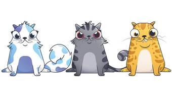 Im unscheinbaren Online-Spiel «Cryptokitties» werden digitale Katzen getauscht.